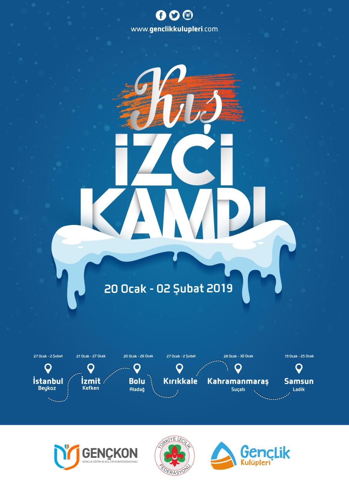 KIŞ İZCİ KAMPI